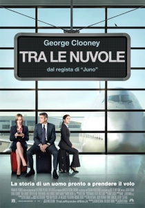 tra le nuvole george clooney poster up in the air