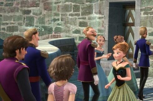 flynn e rapunzel in frozen