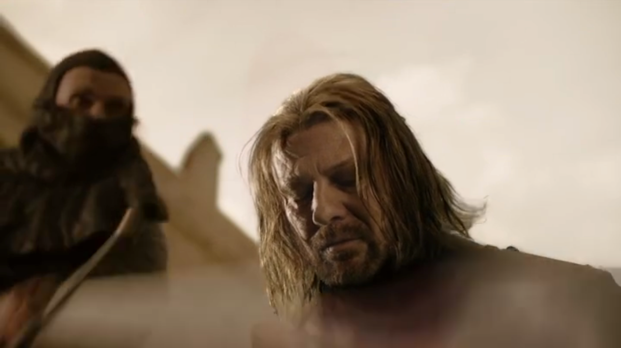 Ned Stark Beheaded
