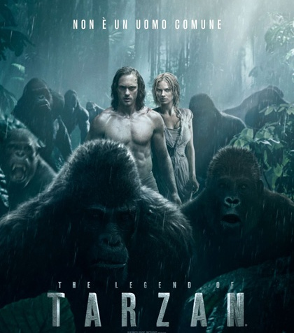 the legend of tarzan margot robbie alexander skarsgard