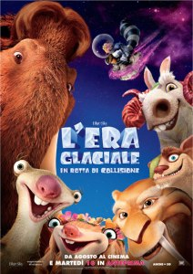 l'era glaciale in rotta di collisione immagini film cinema