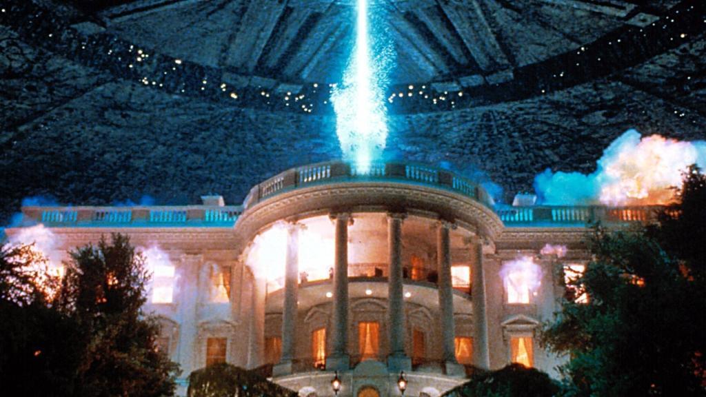 Independence Day Casa Bianca Esplode Immagini
