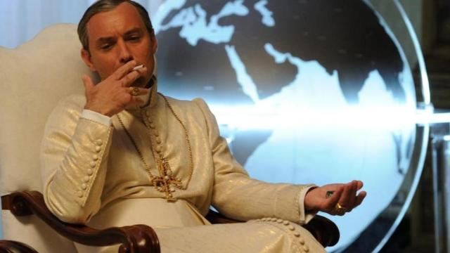 the young pope jude law paolo sorrentino serie tv