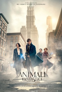 animali fantastici e come trovarli poster harry potter jk rowling