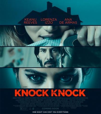 Knock Knock Keanu Reeves Eli Roth Poster immagini foto