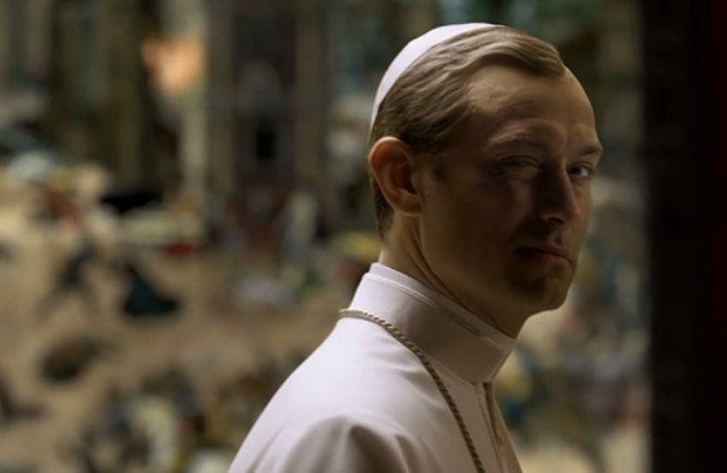 the young pope sigla jude law sorrentini