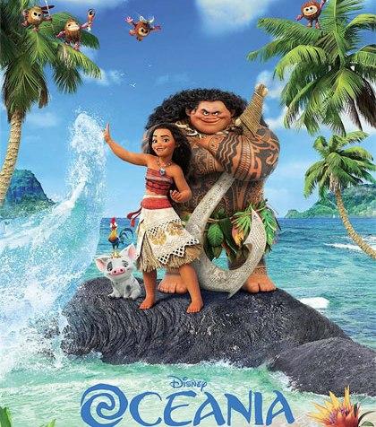 oceania poster disney film natale 2016