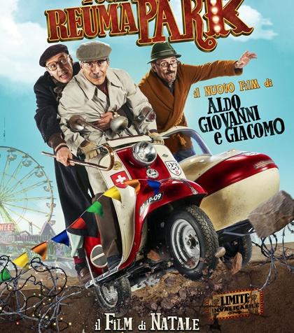 fuga da reuma park aldo, giovanni e giacomo film natale 2016 poster locandina