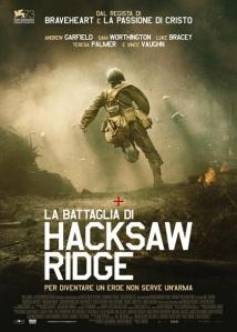 la battaglia di hacksaw ridge locandina poster immagini nel gibson