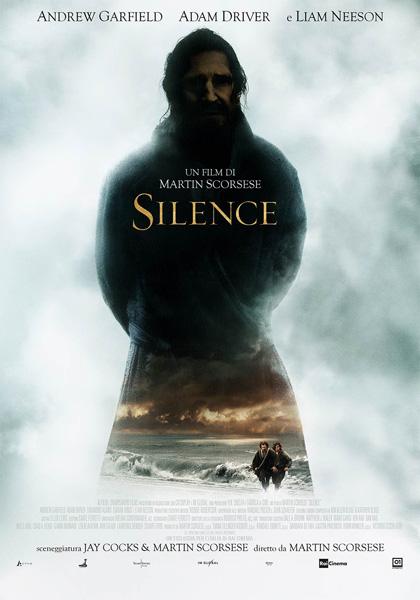 Silence Scorsese locandina