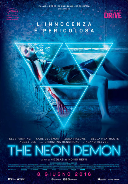 the neon demon refn poster