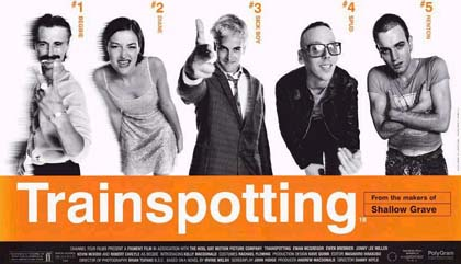 trainspotting 1996 locandina