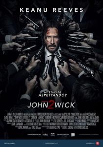 john wick capitolo 2 poster locandina keanu reeves