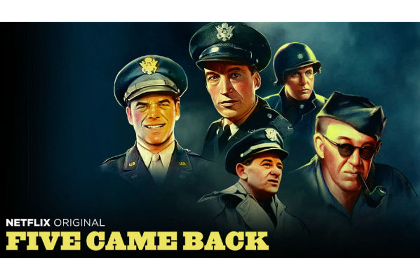 five came back netflix capra huston wyler ford stevens