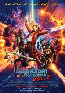 Guardiani della Galassia Vol. 2 locandina poster italiano