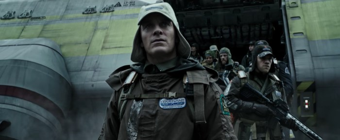 alien:covenant fassbender trailer trama cast spoiler