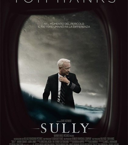 sully locandina poster manifesto tom hanks clint eastwood