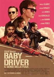 baby driver locandina manifesto italiano