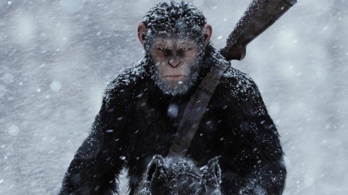 The War - Il pianeta delle scimmie manifesto