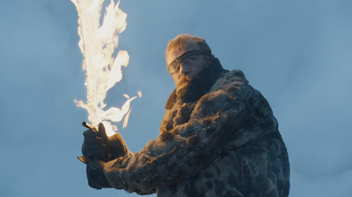 Beyond the wall Beric Dondarrion