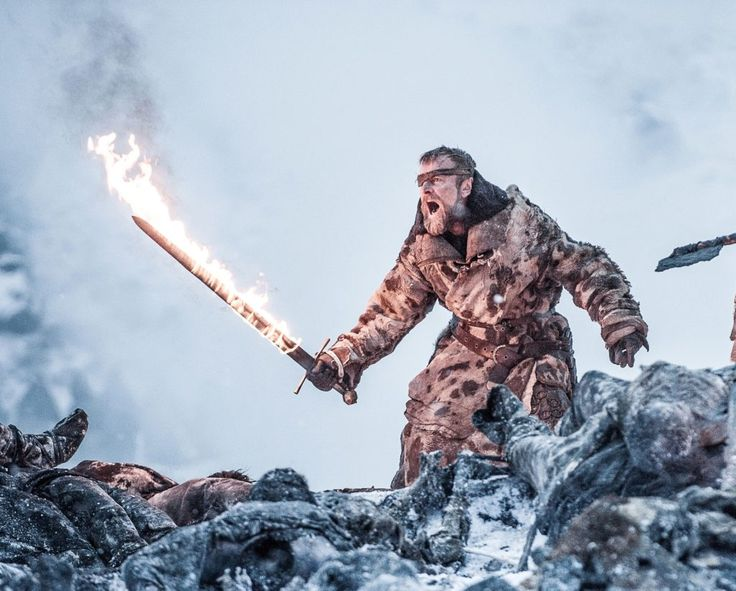 Beric Dondarrion Beyond The Wall Game of Thrones Il Trono di Spade 7x6