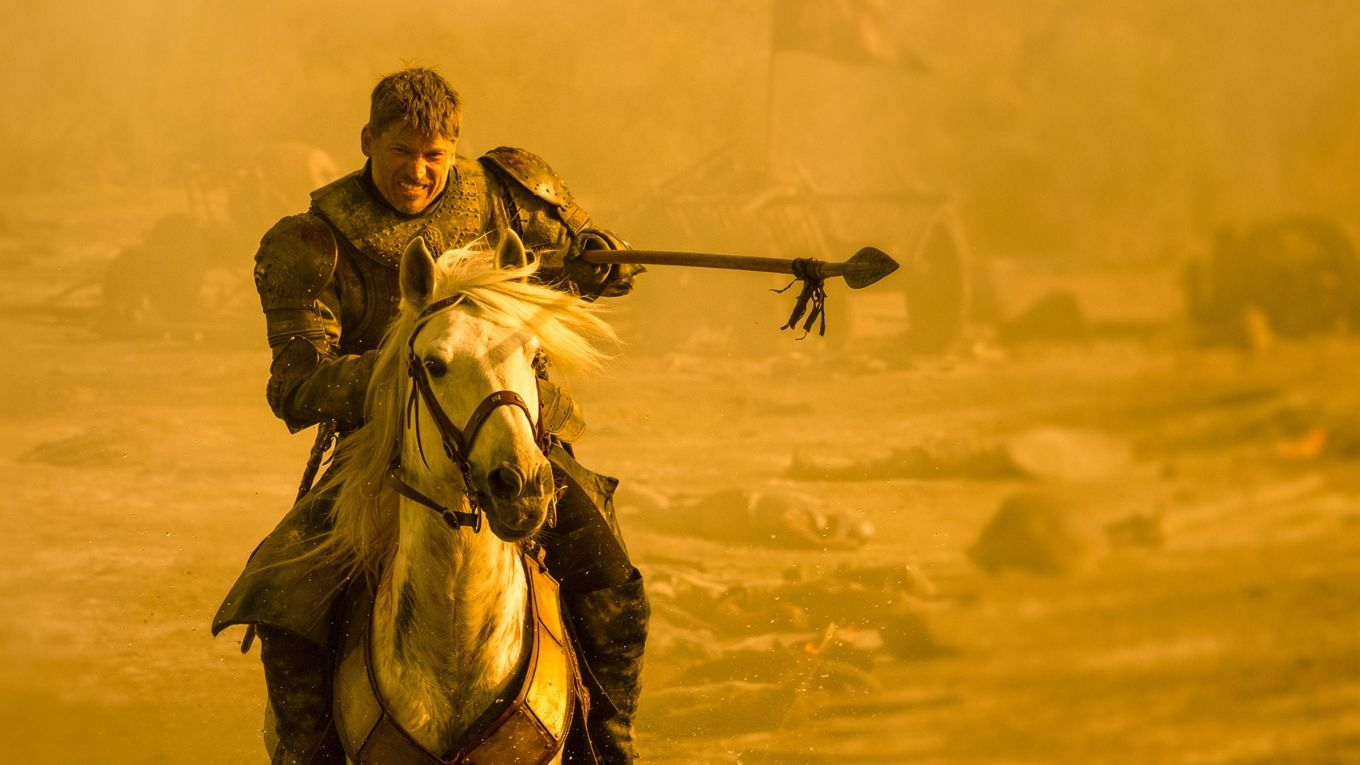 Jaime-Lannister-spear-The-Spoils-of-War