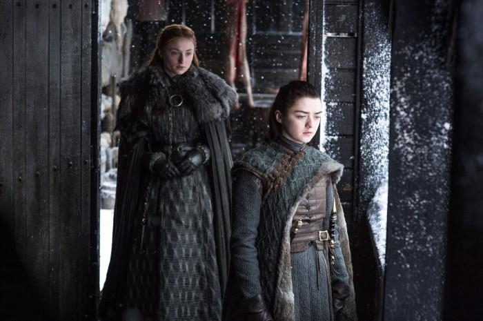 Sansa Arya Beyond The Wall Game of Thrones Il Trono di Spade 7x6