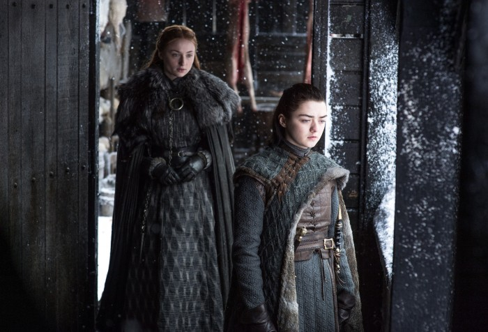 Sansa Arya Beyond The Wall Game of Thrones Il Trono di Spade 7x6