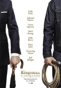 kingsman il cerchio doro locandina
