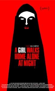 a girl walks home alone at night manifesto locandina