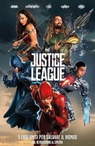justice league locandina manifesto