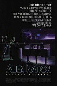 Alien Nation locandina manifesto