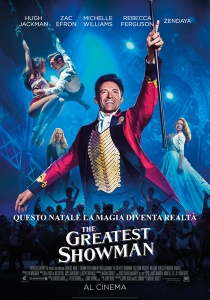 the greatest showman locandina manifesto italia