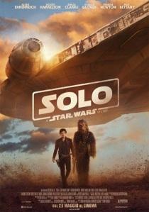 Solo - A Star Wars Story locandina ita