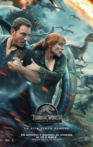 Jurassic World - Il regno distrutto locandina manifesto film