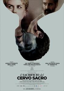 Il Sacrificio del Cervo Sacro locandina manifesto italia