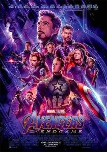 Avengers- Endgame locandina