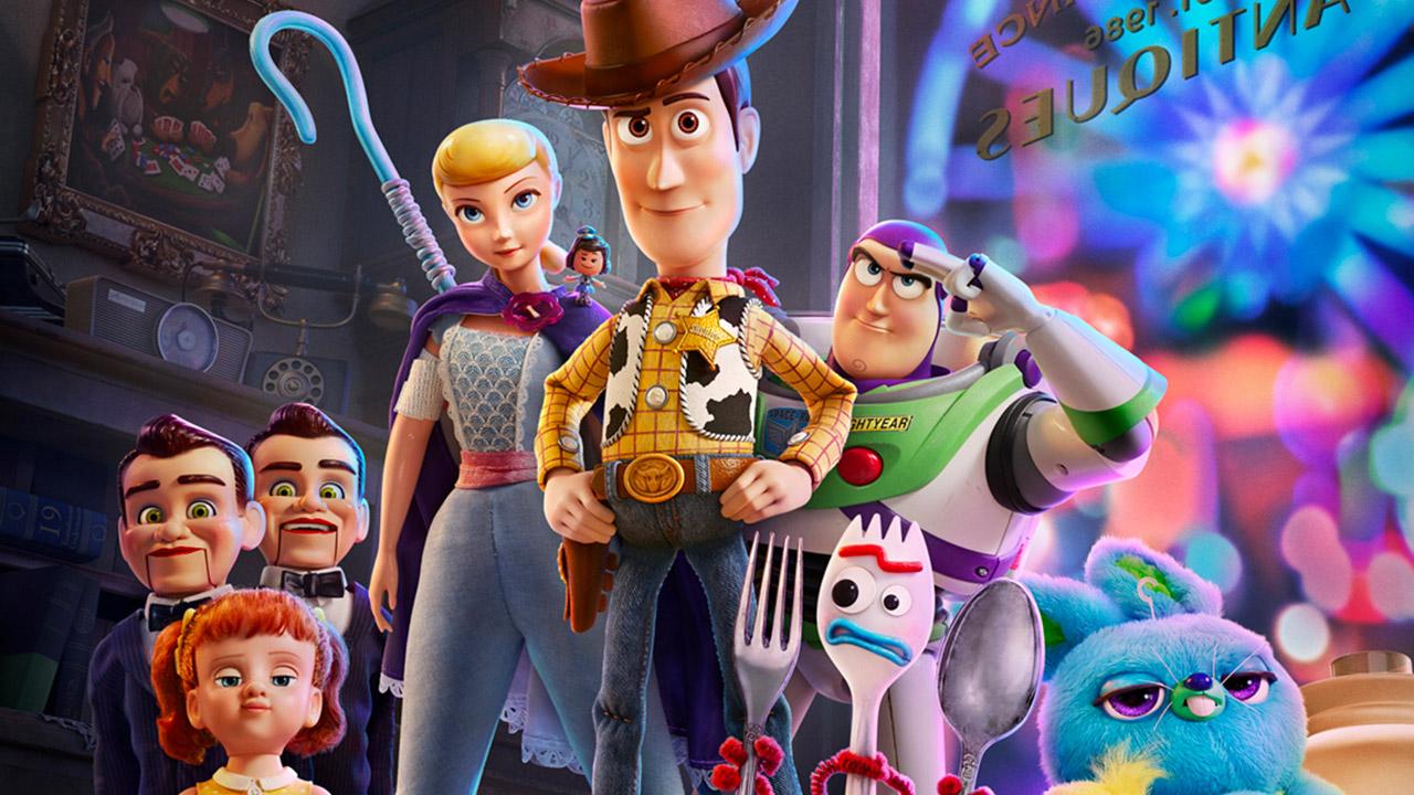 toy story 4 pixar woody buzz