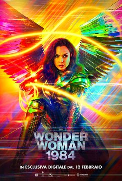 Wonder Woman 1984 locandina